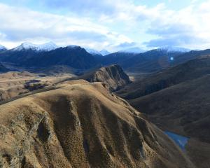 Coronet Peak Station, Upper Skippers. Photo: ODT.