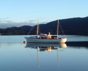 Faith at her mooring on Lake Te Anau. Photos by Alina Suchanski.