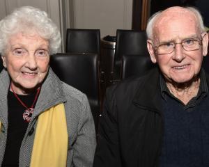 Ngaire and Mervyn McDonald, of Dunedin.