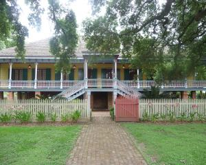 The main house of Laura Plantation stands near New Orleans. Photos: Pam Jones.