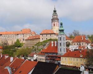 Cesky Krumlov in the Czech Republic. Photos: Antony Boomer.