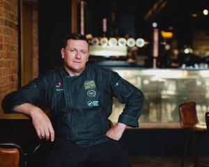 Dunedin chef Greg Piner: Photo: Supplied.