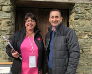 Dairy Women's Network southern regional hub leader Katrina Thomas and Crowe Horwath business...