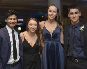 Nathan Kelaart (18), Jasmine Douglas (17), Danielle Lee (17) and Kasam Ali (18).