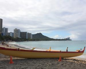 Waikiki Beach where the whole world plays in the sun.PHOTOS: PAUL RUSH