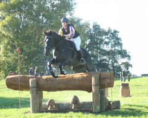 Earnscleugh teen Lilly Anderson competes on her horse Victory Hawk (Darcy) at the Kihikihi International Horse Trials, near Te Awamutu, earlier this year. Photo: Jane Thompson