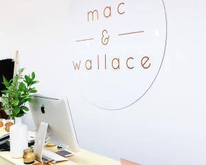 mac & wallace now located at 317 George Street.