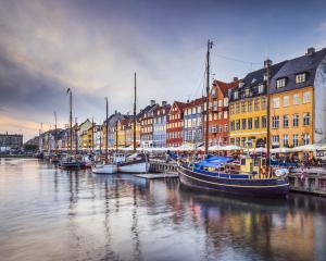 Copenhagen, Denmark on the Nyhavn Canal. Photo: Getty/iStock