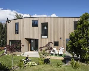 The Wanaka home is positioned to provide a sheltered entrance and garden. The judges for the...