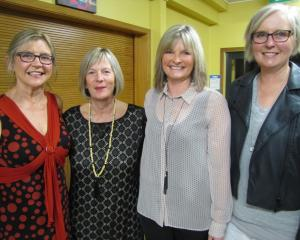 Alice Summers, Jane Harris, Jude McMillan and Pauline Spratt, all of Ranfurly
