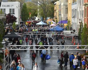 Despite the inclement weather,  many thousands of people turned up to the Vogel St Party on...
