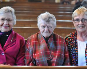Andrea Mosley, Dorothy Pearce and Beryl Neutze, all of Dunedin.