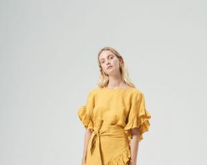 Hansen & Gretel Ellen linen dress $269