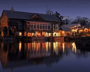 Millhouse Restaurant is housed in the former farm's flour mill. Photo: Supplied