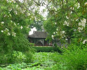Wang Xianchen's Humble Administrator's Garden, in Suzhou, is the sole Chinese entry in Lessons...