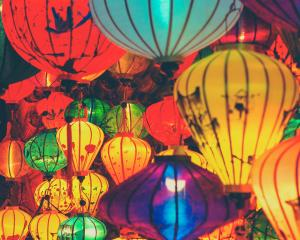 The handed-painted silk lanterns that are a specialty of Hoi An. Photo: Getty Images