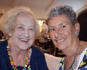Marie Harbott and Rose Henderson, both of Dunedin.