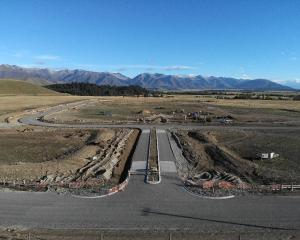 A view of the Merino Downs subdivision on the outskirts of Twizel. Photo: Supplied