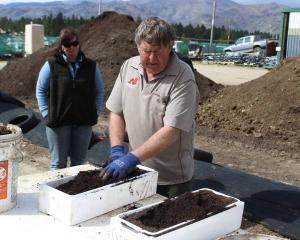 Robbie Dick's Central Wormworx worm farm uses millions of worms to produce worm castings from organic waste. Photos: Yvonne O'Hara