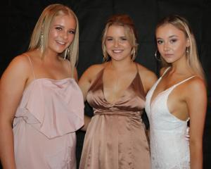 Gabby Tohill (17), Nikita Chapman (16) and Nina Flanagan (17).