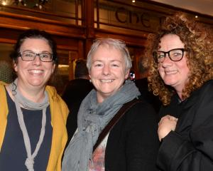 Anita Brosnan, Shelley Dixon and Sue McDowell, all of Dunedin.