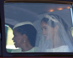 Meghan Markle arrives ahead of her wedding to Prince Harry at Windsor Castle. Photo: Reuters