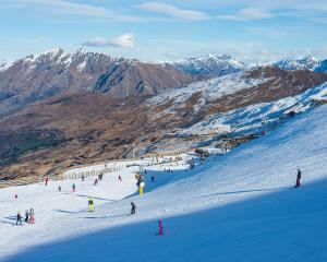 About 1800 people took to the slopes at Coronet Peak on Saturday when the ski area officially...
