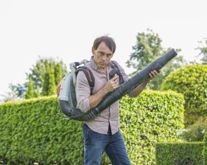 Jason Gunn gets serious about his traditional garden.