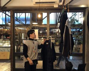 Marc Jun trials his designs in a pop-up store in Ponsonby, Auckland. Photos: Supplied