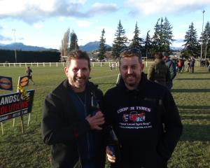 Graham Beale and Craig Upfold, both of Wanaka.