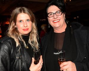 Veronika Brylinska and Frances McElhinney, both of Oamaru.