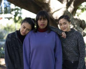 Sweatshop writers (from left) Winnie Dunn, Phoebe Grainer and Shirley Le will visit Dunedin as part of the NZ Young Writers Festival. Photos: Nate Palmer