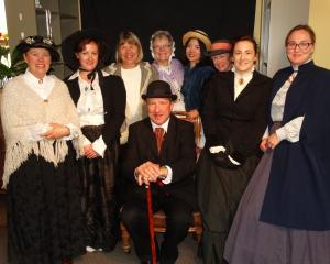 Lakes District Museum staff wear period clothing during yesterday's 70th anniversary open day....