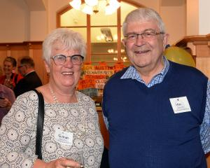 Retired chief executive Gillian Bremner and house doctor Leon Dittrich. Photos: Linda Robertson