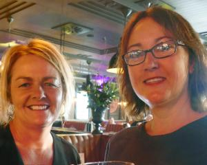 Diane Saville and Juanita Doherty, both of Queenstown.