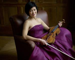 Jennifer Koh will perform with the New Zealand Symphony Orchestra in Dunedin. Photo: Jurgen Frank