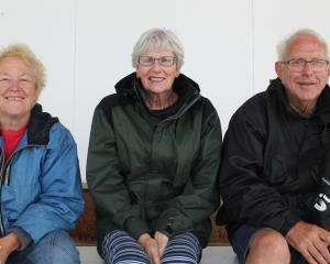 Pam Jones, Adrienne Maguire and Barry Maguire, all of Invercargill.