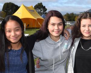 Zara Thwaites (14), Lucilyn Ongcoy (14), Khayla Howe (15), Shai Duff (15) and Jahkeim Taitapanui (16), all of Dunedin.