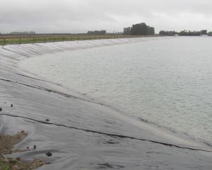 Gravel embankments are covered with an internal HDPE geomembrane liner. Photos: Toni Williams