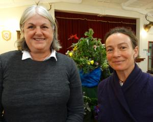 Lynda Hoskins and Ra McRostie, both of Oamaru.