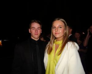 Olly Rowe (16) and Estelle Norman (16).