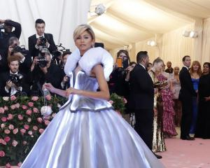 Actor and singer Zendaya at the Met Gala. PHOTO: Getty Images