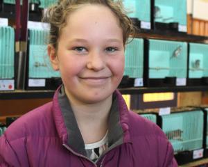 Hannah Pow (10), of Balclutha.