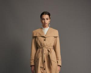 A trench coat is as timeless and it is tasteful. Pictured: Trench by RUBY. Photos: Supplied