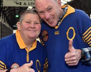 Deborah and Peter Rielly, of Dunedin.