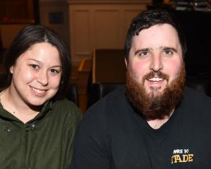 Charlotte Cairns and Stuart Eaton, both of Dunedin.