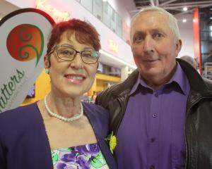 Colleen and Grant Vicary, of Invercargill.