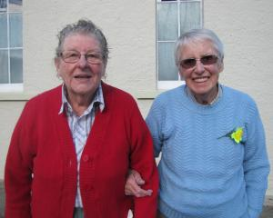 Helen Dunn, of Clyde, and Elma McGregor, of Alexandra.