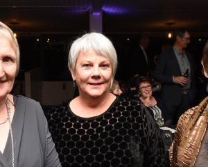 Sue Nichol, of Outram, Alison Kean, of Mosgiel, and Cathy Ferguson, of Outram.