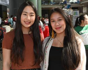 Violet Chae (22) and Sabrina Alhady (21).